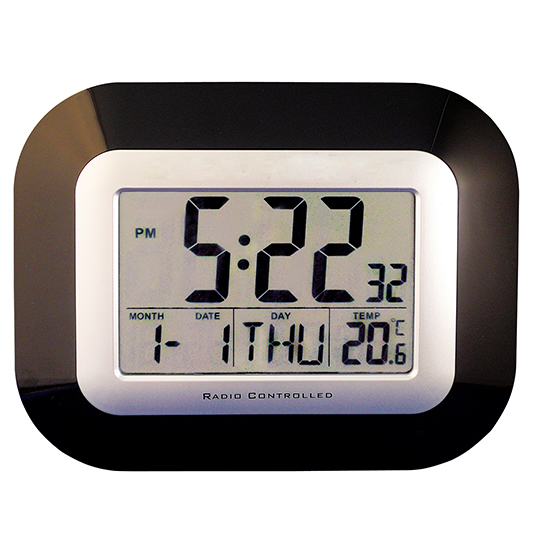 electronic digital calendar day clocks for the elderly dementia. Black Bedroom Furniture Sets. Home Design Ideas