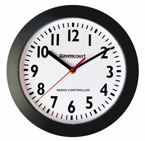 Radio Controlled Wall Clocks For Uk Schools Easy To Read Dial