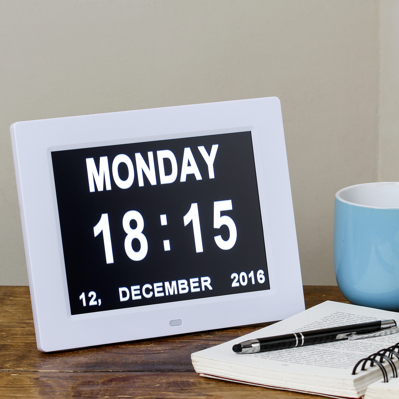 Digital Day Of The Week Clocks With Date Amp Time For The