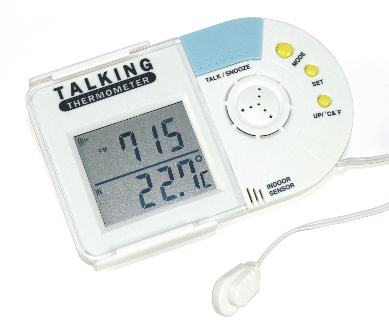 Talking Indoor Amp Outdoor Thermometer High Quality Living