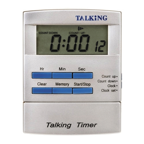 talking clocks watches for the elderly dementia patients the blind. Black Bedroom Furniture Sets. Home Design Ideas
