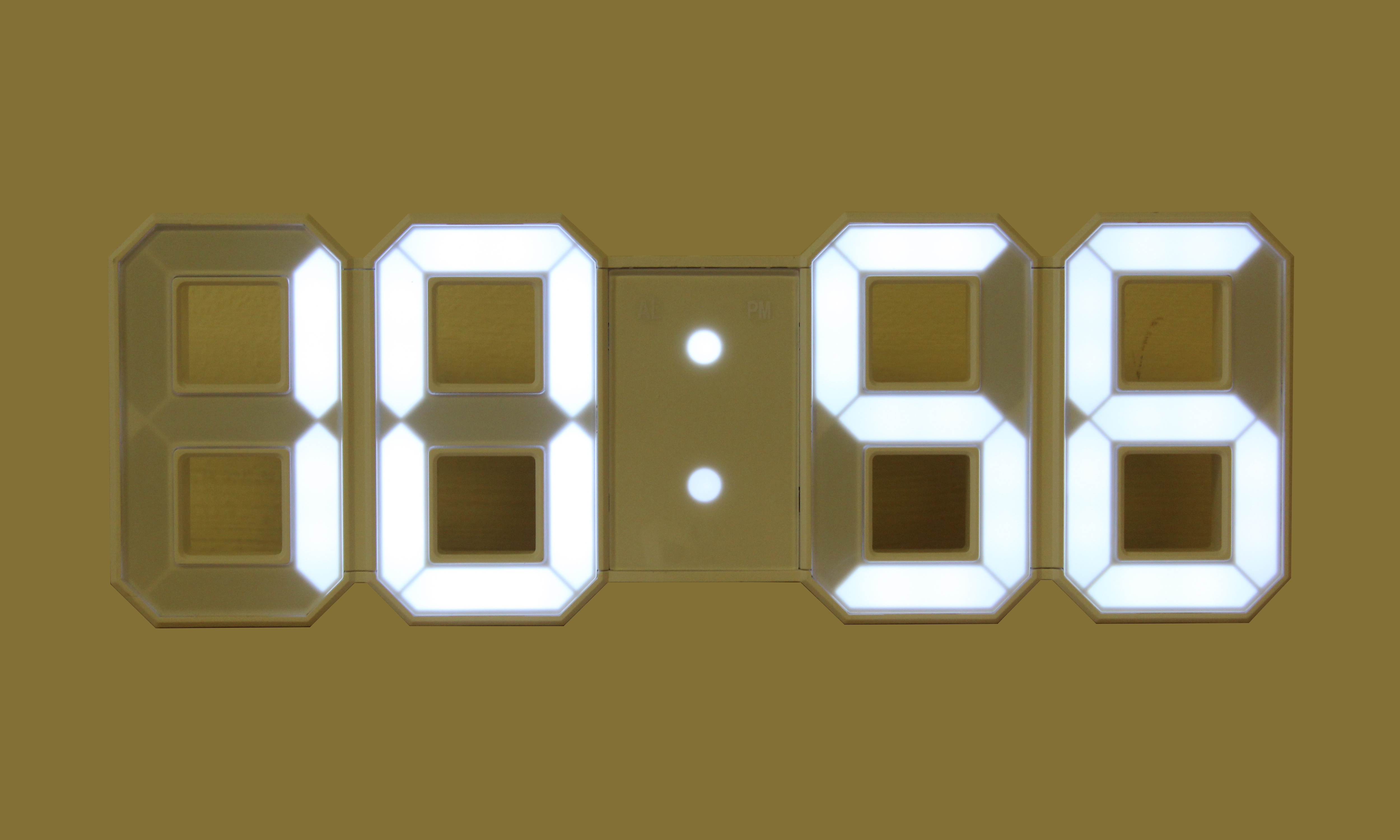 Large Digital Led Wall Clock Ideal For School And Exams
